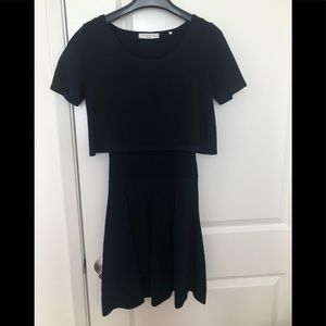 Sandro one piece black dress